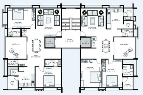 Srijan Designers House Floor Plan Design Civil Architecture Design House Design Interior Design Interior Design House Renovation Loan